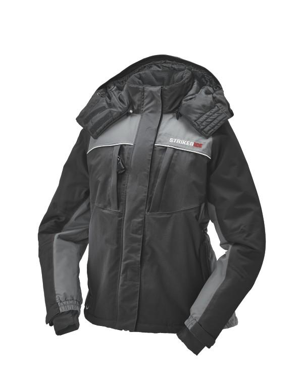 Striker Ice Prism Jacket Gray Black Side