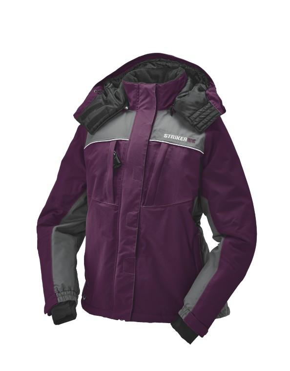 Striker Ice Prism Jacket Marsala