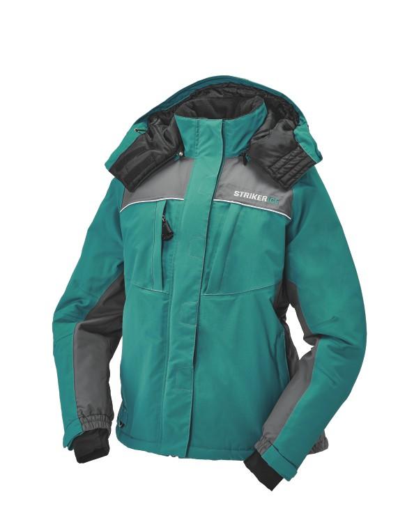 Striker Ice Prism Jacket Teal Side